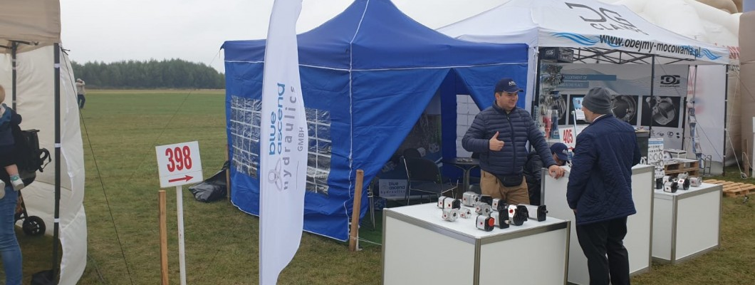 Blue Ascend Hydraulics was at Agro Show in Poland.